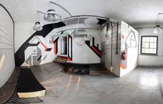 _AFxTT [...]. Pod tą tajemniczą nazwą kryje się graficzno-architektoniczna instalacja we wnętrzach biura coworkingowego KOMPANY w Krakowie. Jej autorami są projektanci ze studia LATE.  http://sztuka-wnetrza.pl/920/artykul/afxtt