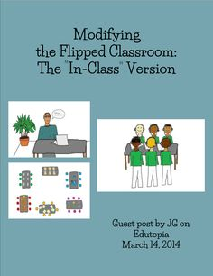 """Modifying the Flipped Classroom: The """"In-Class"""" Version - Guest blogger Jennifer Gonzalez proposes the In-Class Flip, a modified version of the flipped-learning model that incorporates the video lecture element as one of several stations that students visit during their class period."""