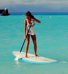Paddle board in Hawaii… hopefully I'll be able to do this over spring break