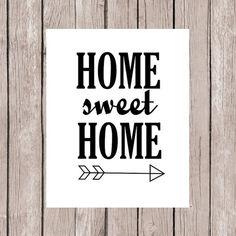 Een andere sfeer door woonaccessoires Printable Quotes, Printable Wall Art, Quote Prints, Wall Prints, Home Wall Decor, Diy Home Decor, Wall Decor Quotes, Quotes White, Clever Quotes