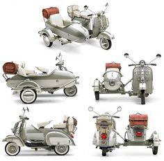 Vespa con sidecar (1957-1975)