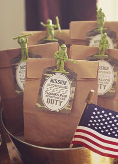 Creative Toy Soldier Camo Birthday Party // Hostess with the Mostess®