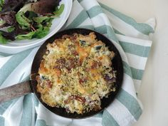 Chicken and Ricotta bake - a simple supper dish - all the things