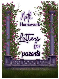 Great for use in Kinder to Second grade: The letters are to strengthen the class and home connection by inviting parents in their child's education. Each send home letter outlines a couple of activities that the parents and children can do together to reinforce the work that is being done in class on a daily basis. The letters can be personalized to meet the needs of your students education.    Lets get the parents involved with ease!