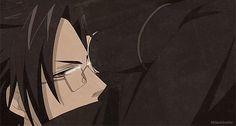 tumblr_nfj0ljthH01u2ipguo1_500.gif (500×268) Black Butler Sebastian, Black Butler Characters, Black Buttler, Black Butler Kuroshitsuji, Quality Memes, He's Beautiful, Silver Hair, Green Eyes, Animation