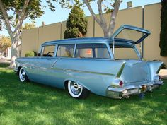 '57 Chevy WagonPin brought to you by agents of #Carinsurance at #HouseofInsurance in Eugene, Oregon
