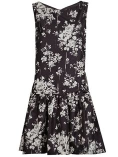 RED VALENTINO Ombre Chine Dress