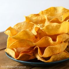 Spicy Tortilla Crisps With Queso Fundito From 'Salty Snacks' Recipes ...