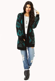 South Bound Open-Front Cardigan | FOREVER 21 - 2079375252