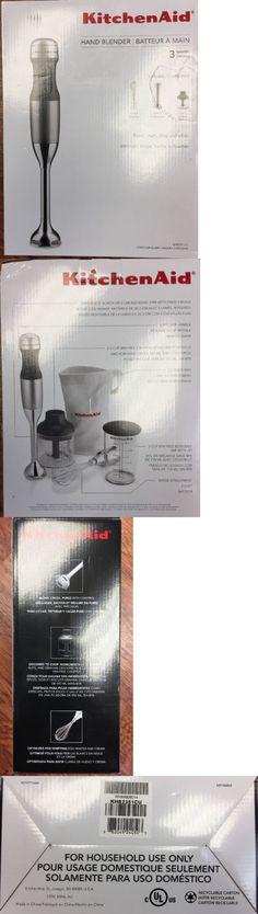 Kitchenaid Khb2351cu 3 Speed Hand Blender blenders handheld 133703: braun hand blender and chopper mr380 new
