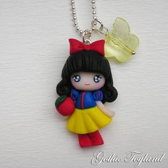 Kawaii Cuties Sweet Snow White Pendant with par GothicToyland, €15,00