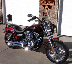 2012 Harley Davidson Super Glide Custom FXDC, $11,500. Marshfield, Missouri #hd4sale #motorcycle