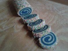 Biscotti golosi a spirale