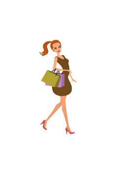 Shopping girl ponytail vector #shopping  #fashionshopping #girlvector #vectorshopping #vectorshoppinggirl  http://www.vectorvice.com/shopping-girls-vector