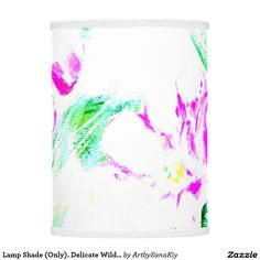 Lamp Shade (Only). Delicate Wild Roses