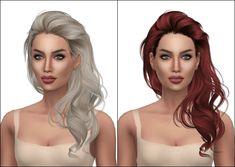 Kenzar Sims: Newsea`s Millet Hair Retextured  - Sims 4 Hairs - http://sims4hairs.com/kenzar-sims-newseas-millet-hair-retextured/