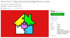 From 0 to 1: Data Structures & Algorithms in Java http://ift.tt/1SaeQzD  #udemy #coupon #discount