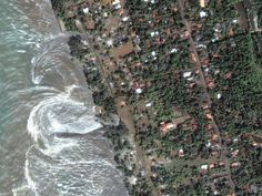 From Japan to Sri Lanka and Chile, tsunamis have wreaked havoc in the past few years, leaving a staggering toll of death and destruction in their frothy wake.    Seismic studies have helped scientists get better at predicting their arrival, although tsunami warning systems are still lacking in many parts of the world.    Pictured are waters retreating from the coast of Sri Lanka after the 2004 tsunami, which had been triggered by a 9.0-magnitude earthquake off Indonesia and the Indian…