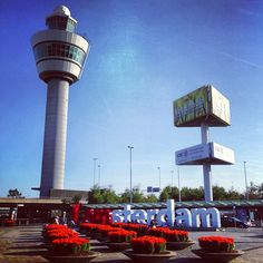 Amsterdam Airport Schiphol (AMS) itt: Schiphol, Noord-Holland So huge and modern :) that was amazing to be there Bucket List Holidays, Travel Through Europe, Holland, Amsterdam, Places To Go, Airports, Towers, Building, Road Trip