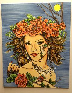 Digi Cameo Fae, Art Stamp Store, Morgan Fitzsimons