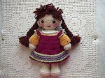 By Hook, By Hand: Good Thing Come in Small Packages - Crochet tiny dolls (Free pattern)