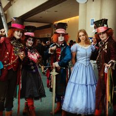 Disney Alice in Wonderland cosplay @ San Diego Comicon 2013.
