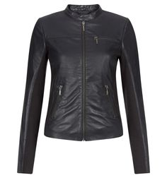 Betty Leather Biker