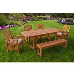 Sundowner 6-Piece Patio Dining Set with Cushions | Nebraska Furniture Mart