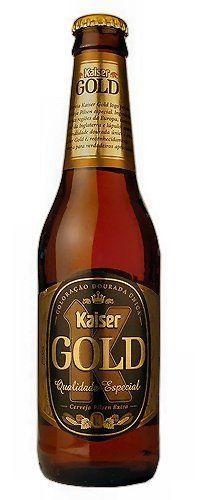 Gold. Ótima opção de cerveja para ter sempre na geladeira, bem melhor que as tradicionais brasileiras de sempre.