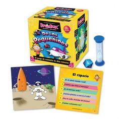8+ BrainBox de los Pequeñines. Jugamos toda la familia. Activa la atención y la memoria. Las partidas son cortas y no se hace pesado y despierta el interés de los niños por aprender divirtiendose