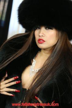 Huge Soft Black Fox Fur's.