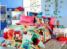 roupa de cama infantil colorido - Pesquisa Google