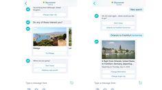 Per cercare un volo, si può chattare con Skyscanner anche su Skype http://www.sapereweb.it/per-cercare-un-volo-si-puo-chattare-con-skyscanner-anche-su-skype/        Skyscanner Avventurarsi nella ricerca di un volo in una chat di gruppopotrebbe minare anche le più longeve amicizie, ma è necessario sapere che chi desidera, ora può farlo. A marzo scorso Skype annunciava l'arrivo dei bot sulla sua piattaforma, e in tempo di vacanze comunica che tra gli...