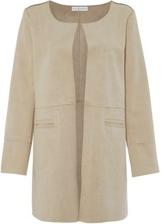 Womens beige jacket from Topshop - £65 at ClothingByColour.com
