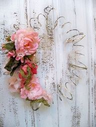 Vintage recycled shabby chic bed spring wreath by AnitaSperoDesign, $48.00