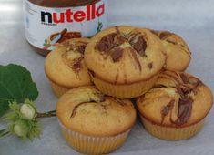 Osia piecze, smaży, szatkuje, smakuje i testuje;): Biszkoptowe muffinki z nutellą