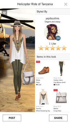 Helicopter ride of Tanzania Covet Fashion