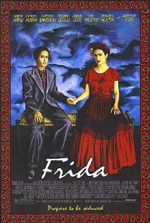 LOVED! (My kitchen has red cabinets decoupaged with Frida Kahlo art snippets.)