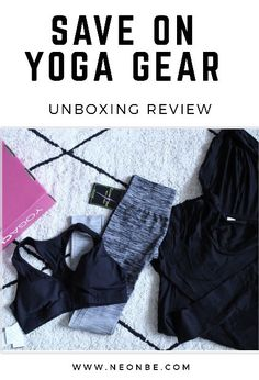 Save On Yoga Gear- Yoga Club Unboxing Review