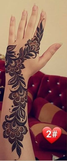 Henna Hand Designs, Circle Mehndi Designs, Mehndi Designs Finger, Floral Henna Designs, Henna Tattoo Designs Simple, Mehndi Designs Book, Mehndi Designs For Beginners, Mehndi Design Photos, Unique Mehndi Designs