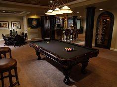 Lounge-Worthy Basements : Interior Remodeling : HGTV Remodels