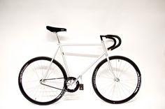 Bravo Cycles Shop - Silver Wraith Track Bike