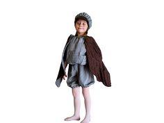 Детские карнавальные костюмы для малышей. Маскарадный костюм Воробей на праздник осени фото. Идеи для создания образа на утренник от Modistkaonline.com