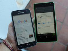 Comparamos en vídeo Google Now frente a Cortana en Windows 10 Mobile, ¡mira mira!
