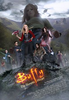 We all secretly hope for a Buffy movie, don't we? Here's what it might look like... Clouds Helicopter Buffy logo Buffy body Willow body Faith body Faith knife Dracula Body Dracula cape Fr...