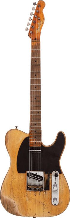Danny Gatton's 1953 Fender Telecaster.... I played a 1996 cistom shop, and was amazed.