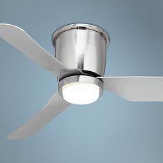 "44"" Innovator™  Brushed Nickel LED Hugger Ceiling Fan"