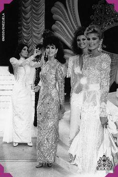 Participantes del certamen de Miss Venezuela de 1987