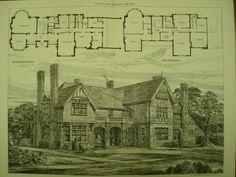 House for George Cawston, Esq. , Sunninghill, Berkshire, England, UK, 1882, Arthur Cawston