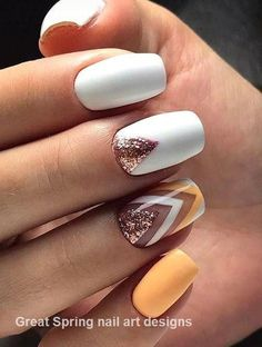 H … – nails – # feather nails # nails Yellow Nail Art Designs; H … – nails – # feather nails # nails Cute Spring Nails, Spring Nail Colors, Spring Nail Art, Summer Acrylic Nails, Nail Designs Spring, Summer Nails, Cute Nails, Pretty Nails, Bright Nail Designs